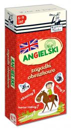 Kapitan Nauka - Zagadki obrazkowe - Angielski 6-9 lat