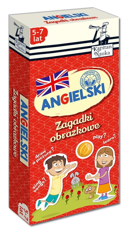 Kapitan Nauka - Zagadki obrazkowe - Angielski 5-7 lat