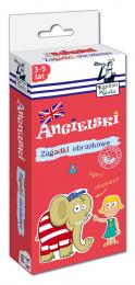 Kapitan Nauka - Zagadki obrazkowe - Angielski 3-5 lat