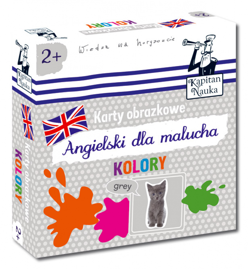 Karty obrazkowe - Angielski dla malucha - Kolory