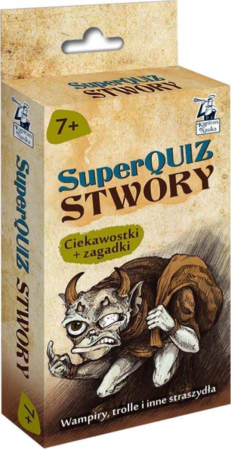 SuperQuiz: Stwory - Ciekawostki + zagadki