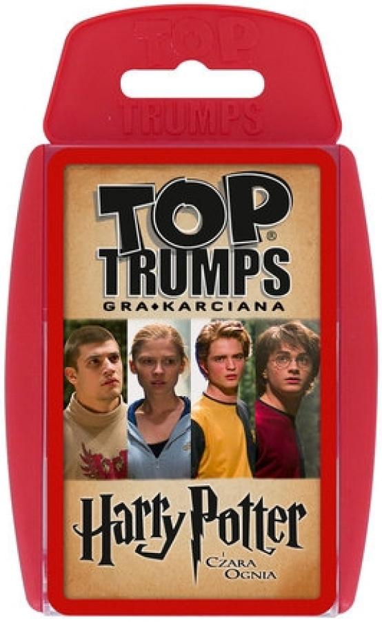 Top Trumps: Harry Potter i Czara Ognia - Gra karciana