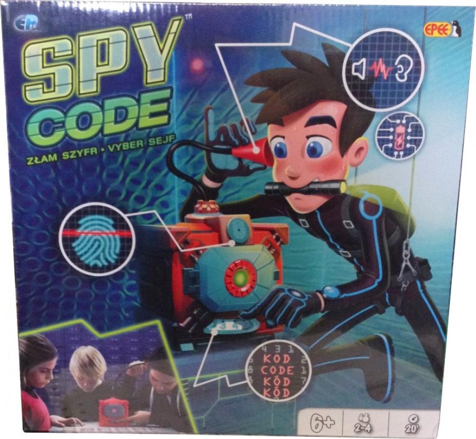 Spy Code - Złam Szyfr