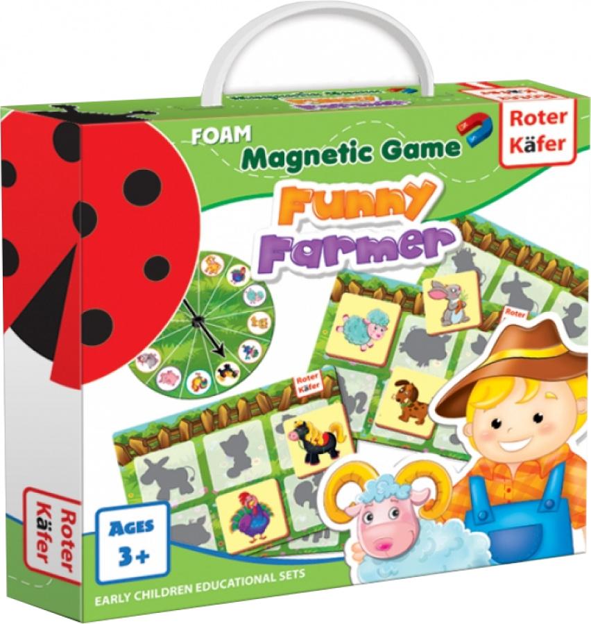 Funny Farmer - Gra Magnetyczna
