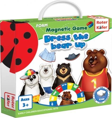 Ubierz Misia (Dress a Bear Up) - Gra Magnetyczna