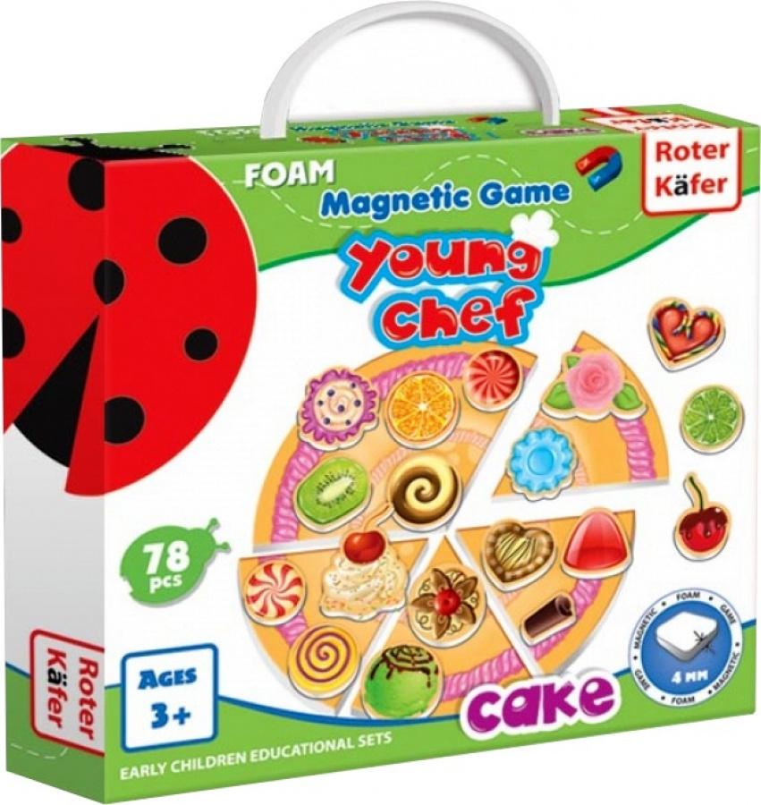 Young Chef - Cake - Gra Magnetyczna