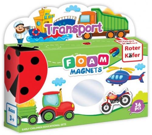 Foam Magnets: Transport