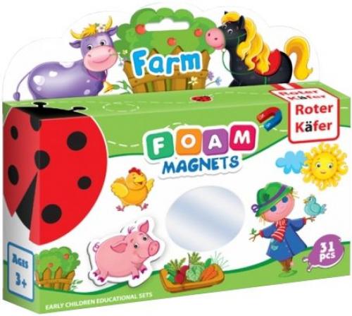 Foam Magnets: Farm (edycja międzynarodowa)