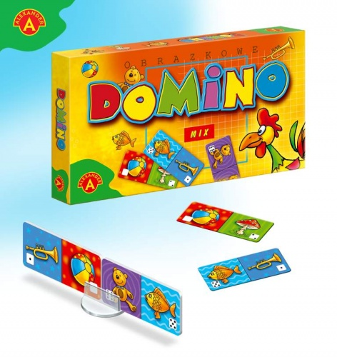 Domino Obrazkowe - Mix