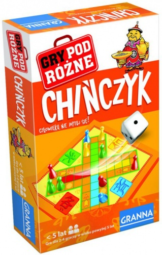 Chińczyk - gra podróżna