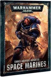 Warhammer 40,000 - Codex Adeptus Astartes - Space Marines (twarda oprawa)