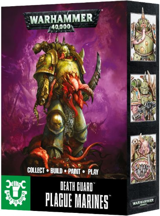 Warhammer 40,000 - Death Guard - Easy to Build Plague Marines