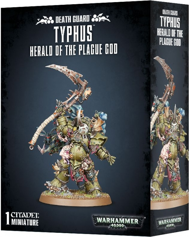 Warhammer 40,000: Death Guard - Typhus