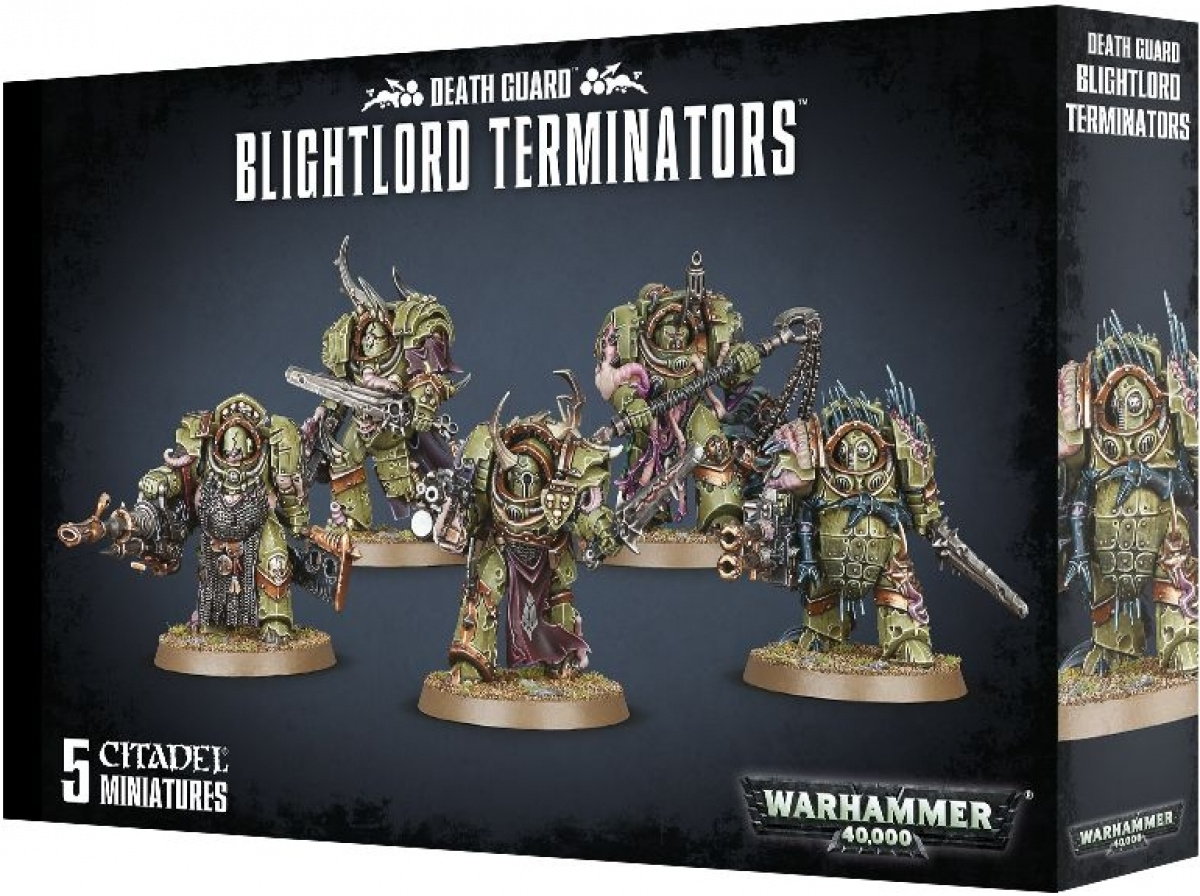 Warhammer 40,000: Death Guard - Blightlord Terminators