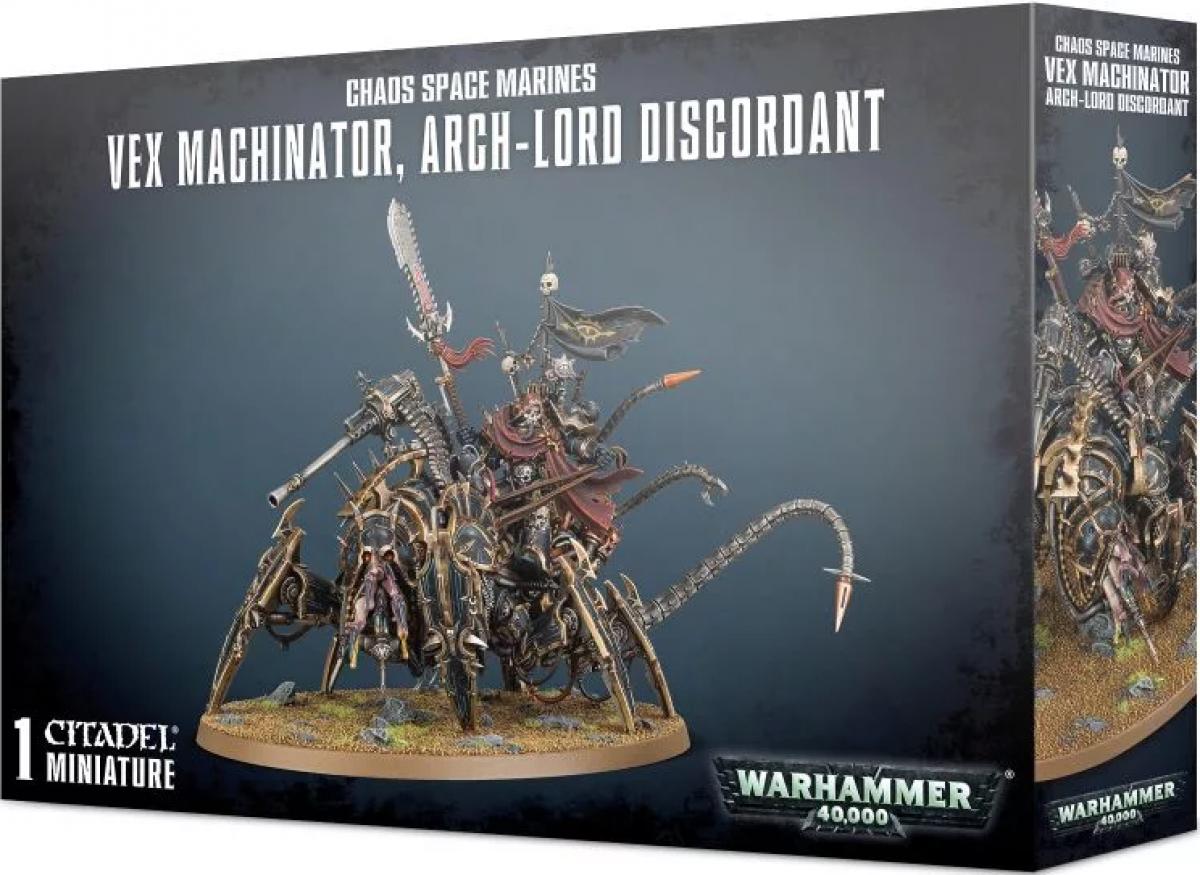 Chaos Space Marines: Vex-Machinator, Arch-Lord Discordant
