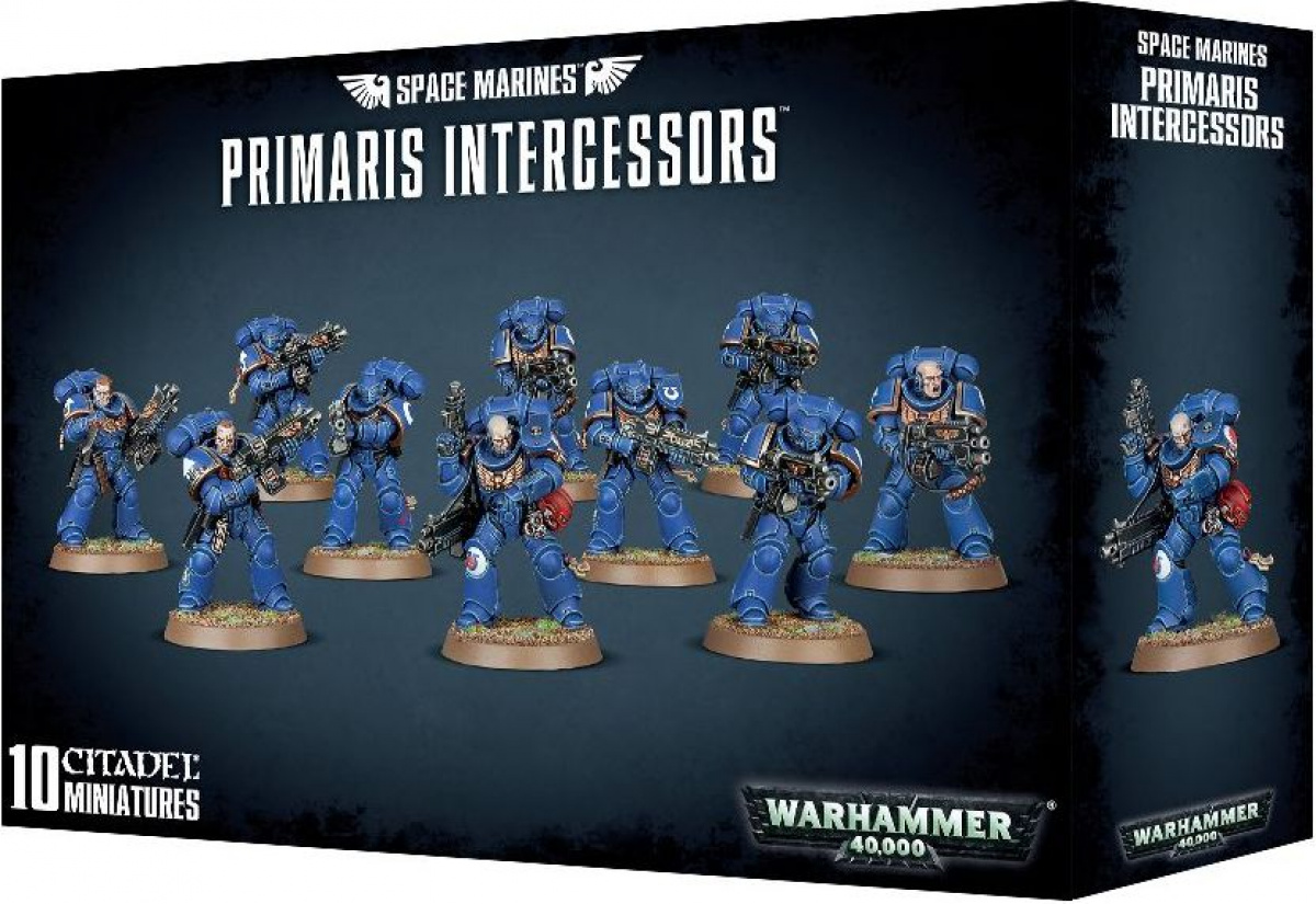 Space Marines: Primaris Intercessors