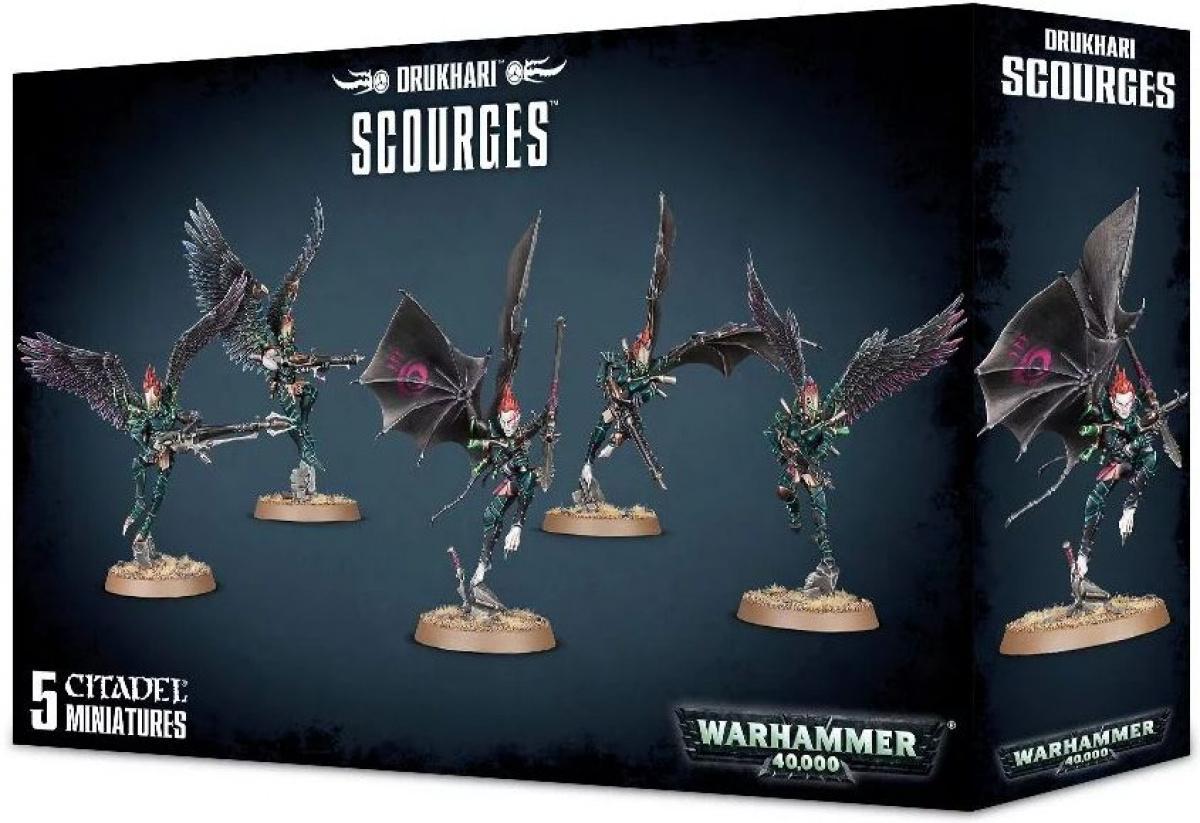 Warhammer 40,000: Drukhari - Scourges