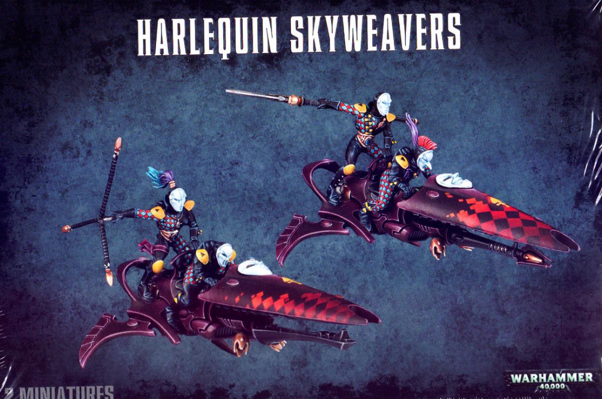 Eldar Harlequin Skyweavers (2015)