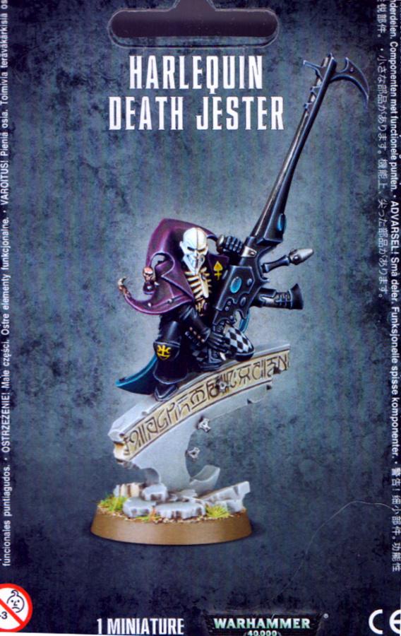 Eldar Harlequin Death Jester (2015)