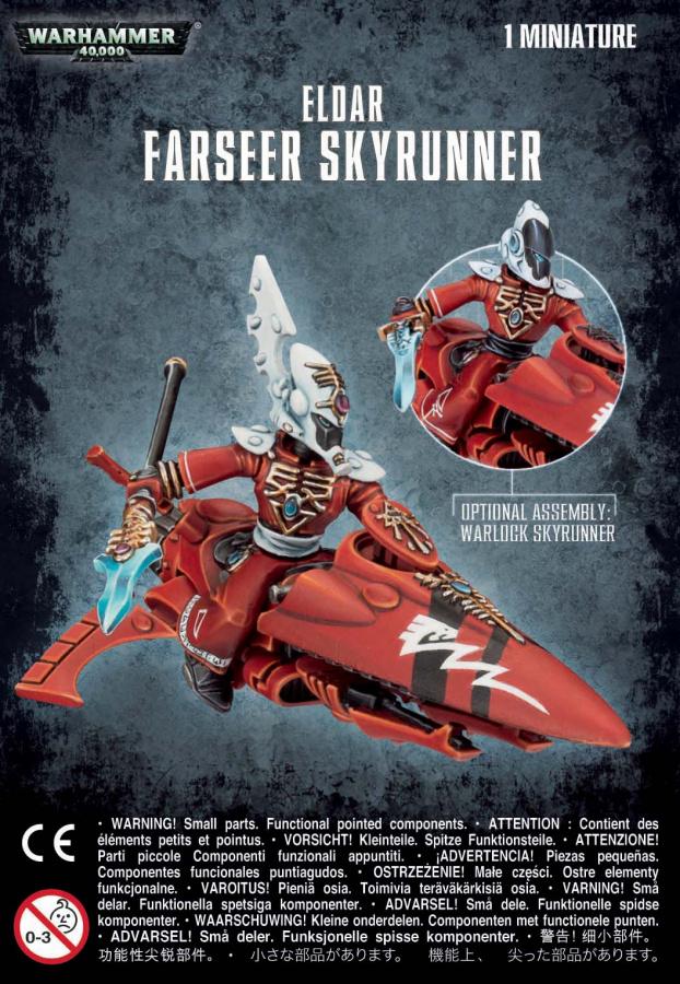 Eldar Farseer Skyrunner / Warlock Skyrunner