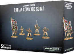 Imperial Guard Cadian Command Squad