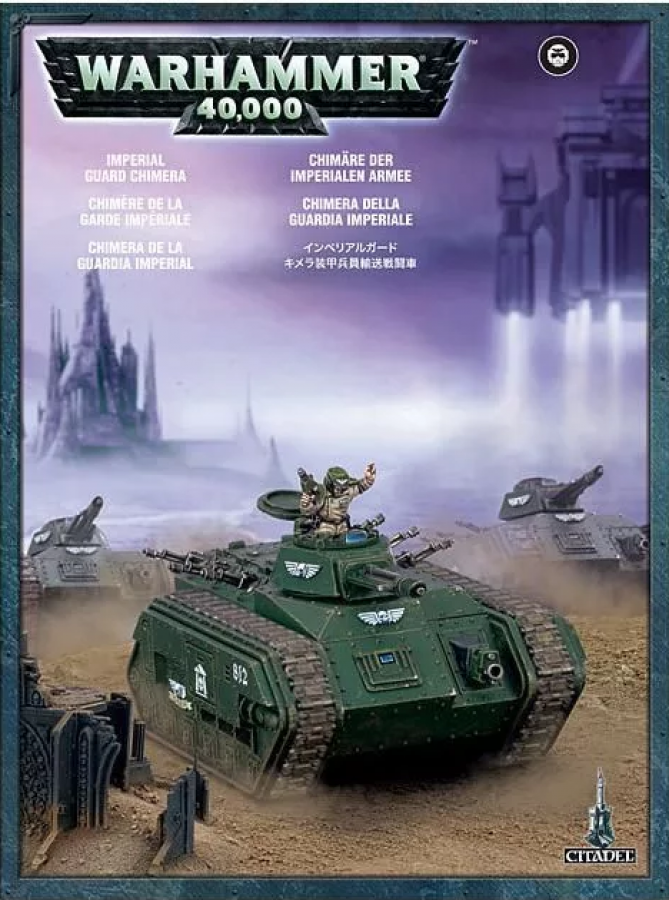 Imperial Guard Chimera 2010