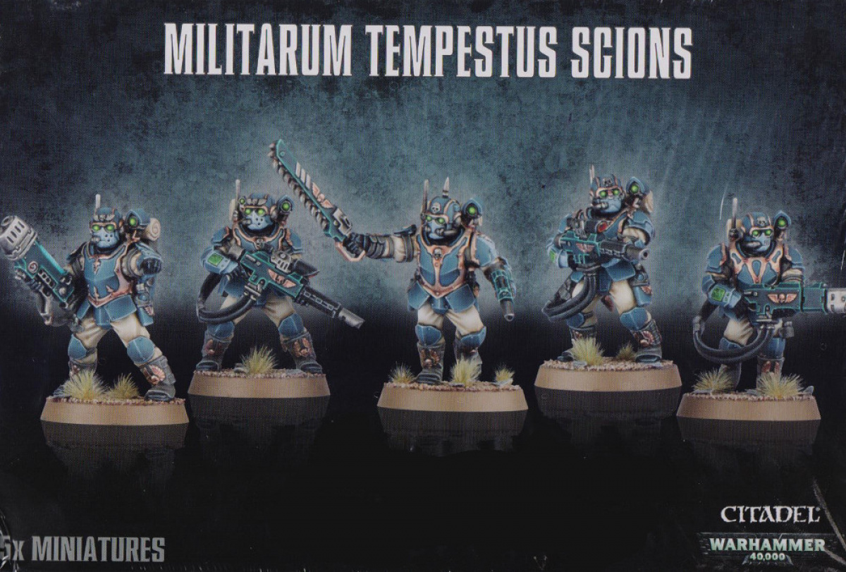 Militarum Tempestus Scion
