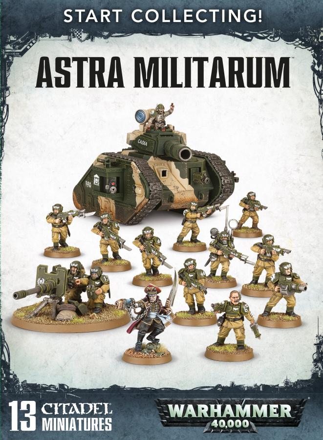 Astra Militarium - Start Collecting!