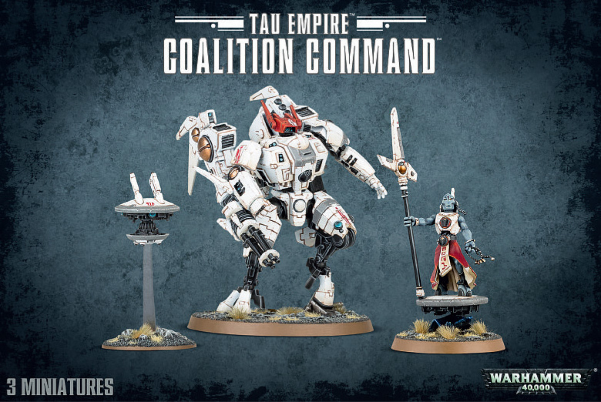 Warhammer 40,000 - Tau Empire - Coalition Command