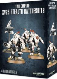 Tau Empire: XV25 Stealth Battlesuits