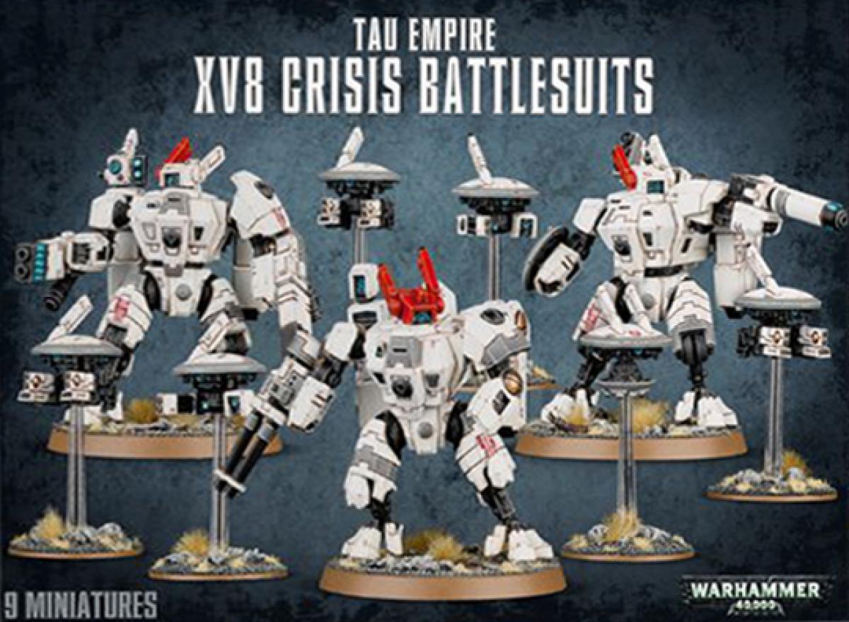 Tau Empire XV8 Crisis Battlesuit