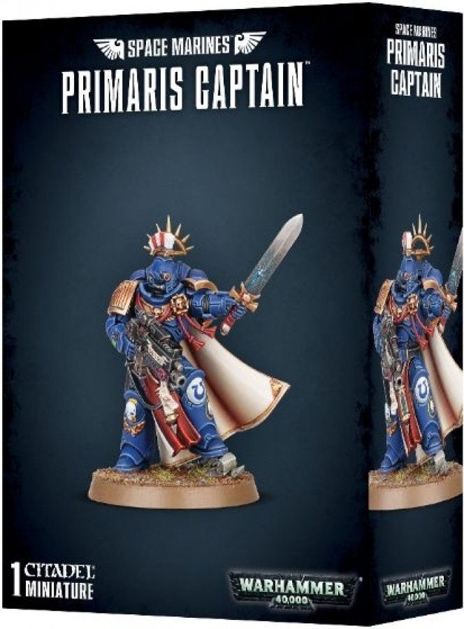 Warhammer 40,000 - Space Marines - Primaris Captain