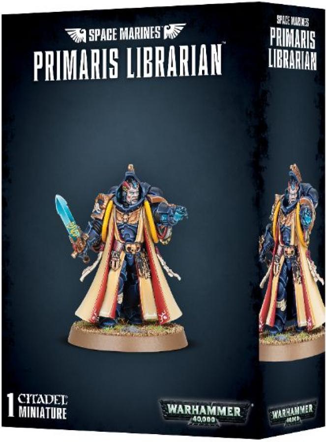 Warhammer 40,000 - Space Marines - Primaris Librarian