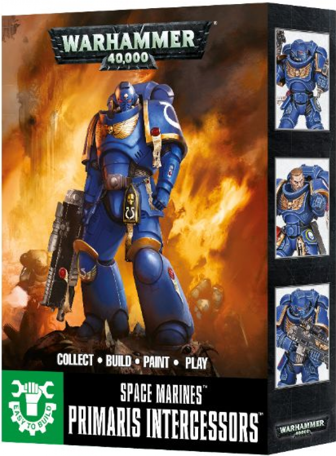 Warhammer 40,000 - Space Marines - Easy to Build Primaris Intercessors