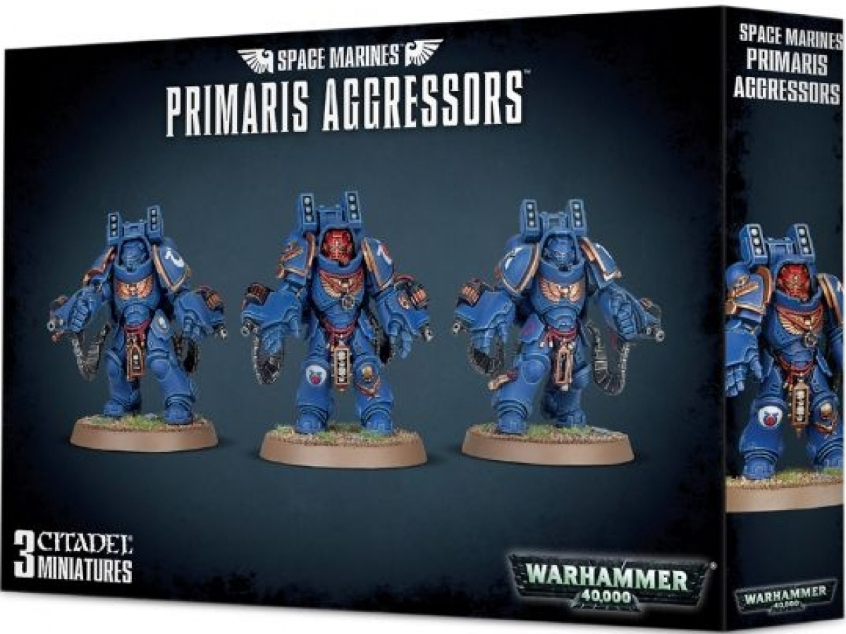 Warhammer 40,000: Space Marines - Primaris Aggressors
