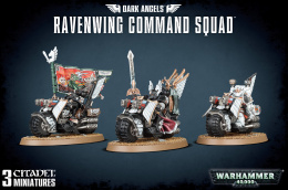 Warhammer 40,000: Space Marines - Ravenwing Command Squad