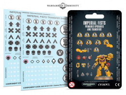 Imperial Fists - Primaris Upgrades and Transfers