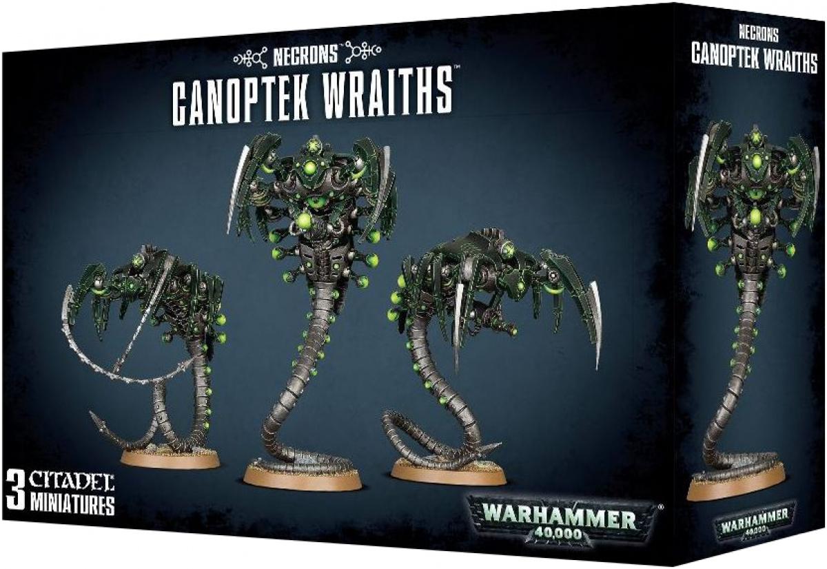 Necron Canoptek Wraiths