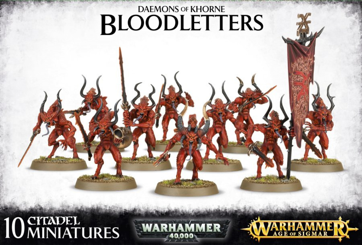 Bloodletters of Khorne (10 plastikowych)