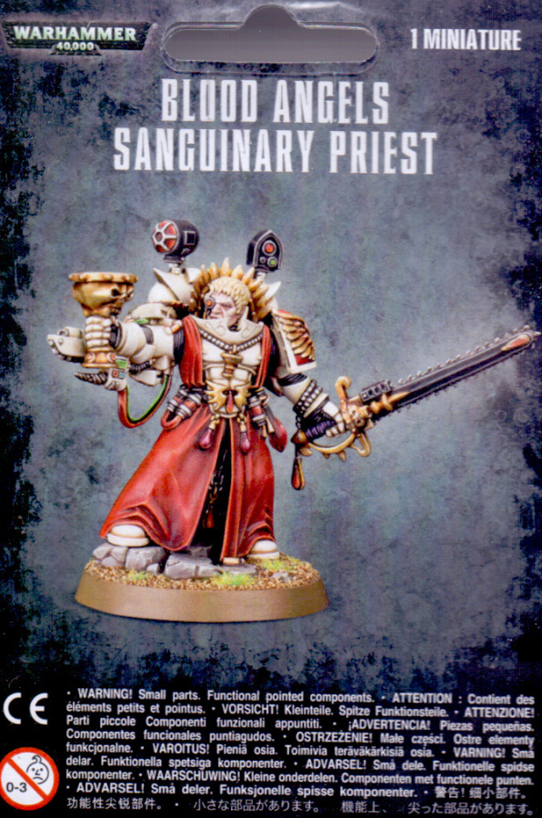 Blood Angels Sanguinary Priest (2014)