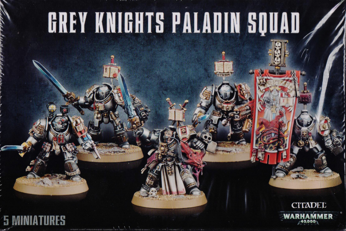 Grey Knights Paladin Squad (2014)