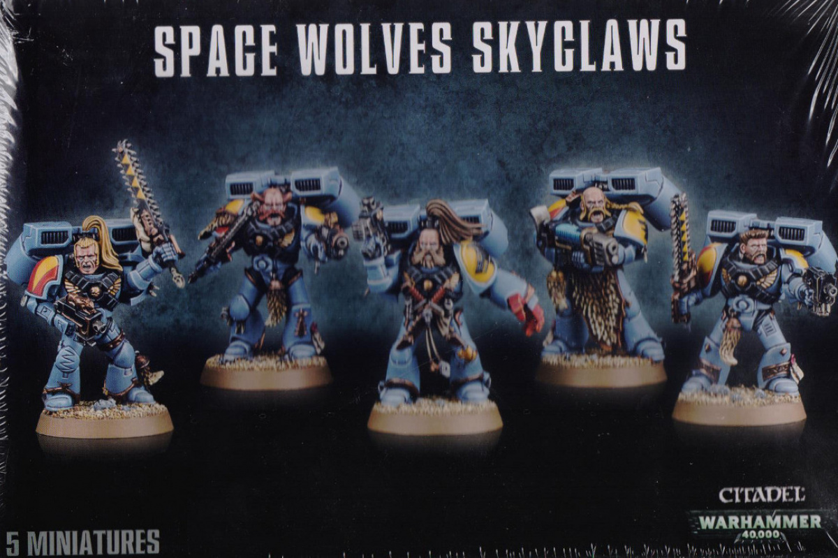Space Wolves Skyclaws (2014)