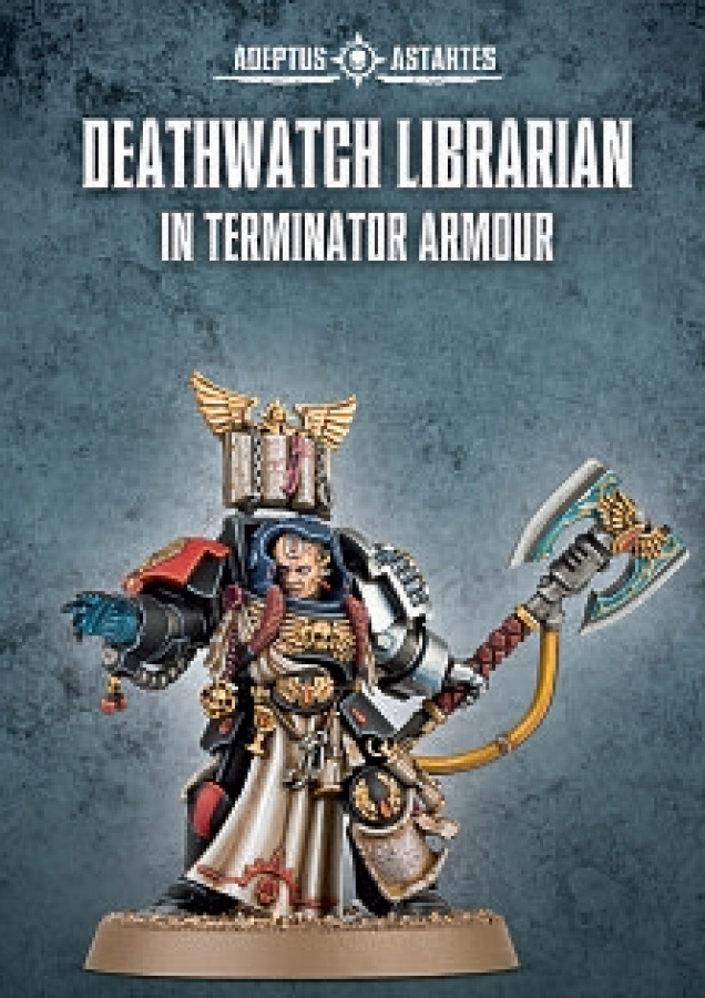 Deathwatch Librarian in Terminator Armour