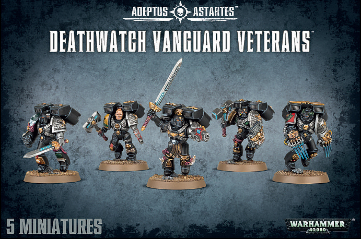 Deatwatch Vanguard Veterans