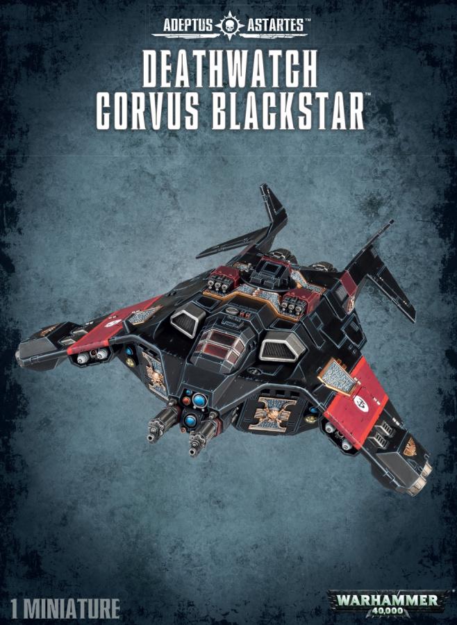 Deathwatch Corvus Blackstar
