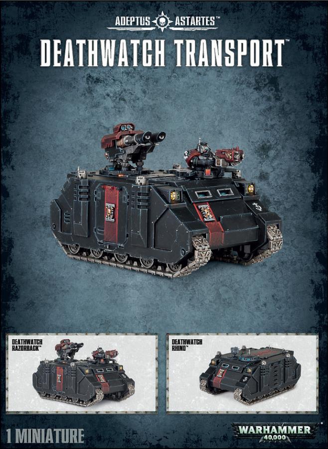 Deathwatch Transport (Rhino, Razorback)