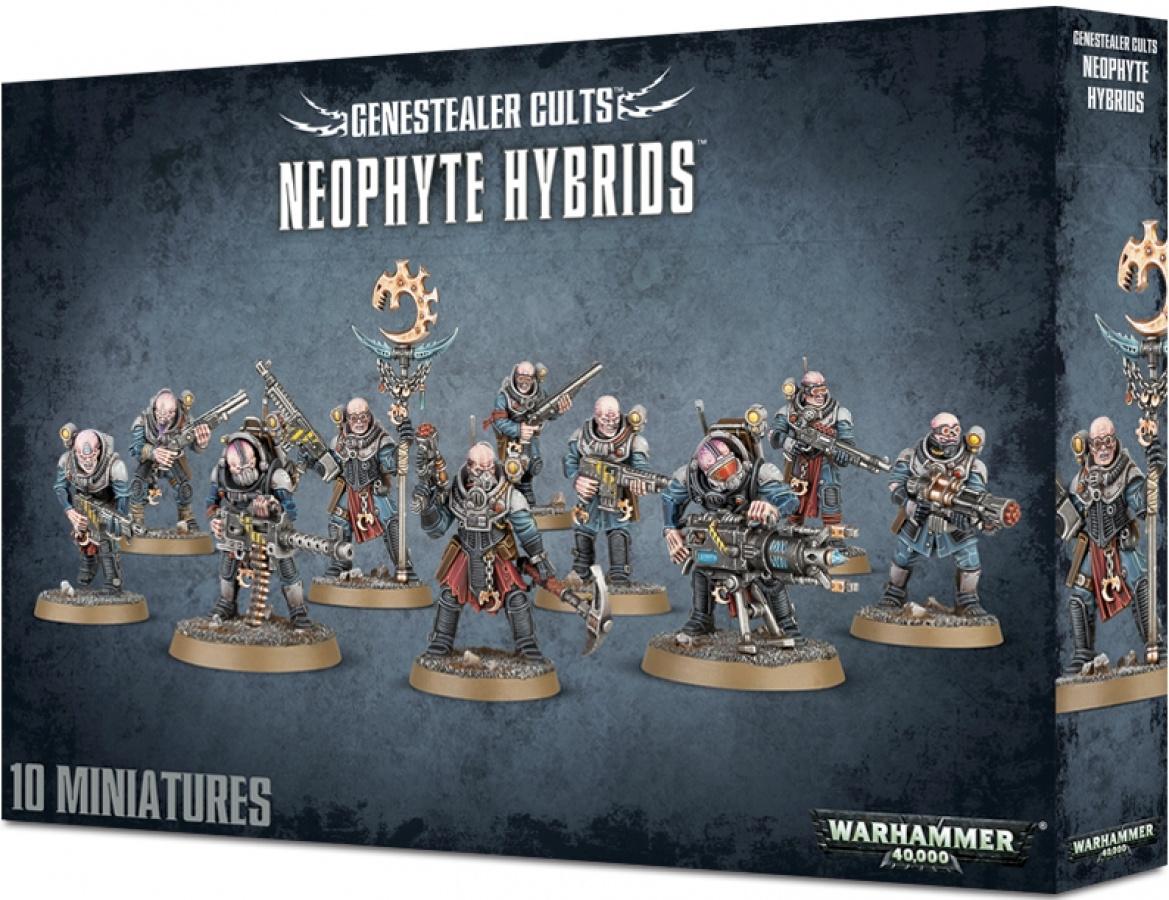 Warhammer 40,000: Genestealer Cults - Neophyte Hybrids