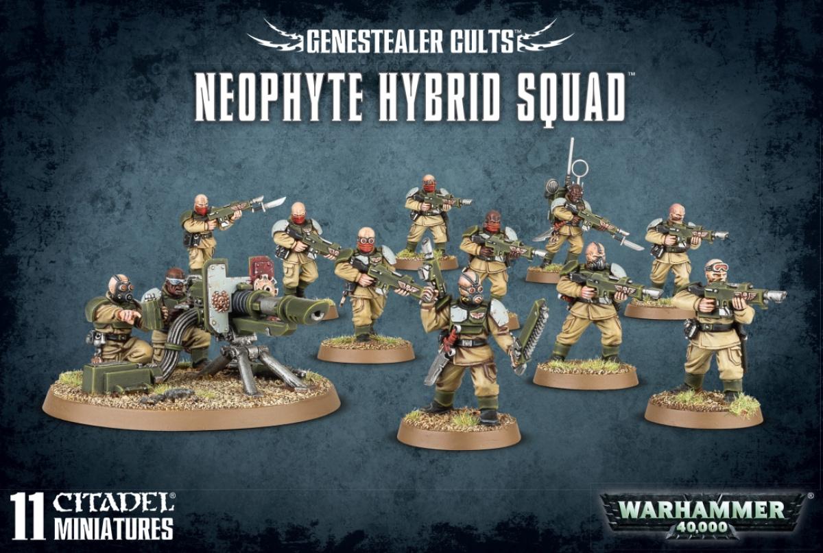 Warhammer 40,000: Genestealer Cults - Neophyte Hybrid Squad
