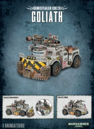 Warhammer 40,000: Genestealer Cults - Goliath / Rockgrinder