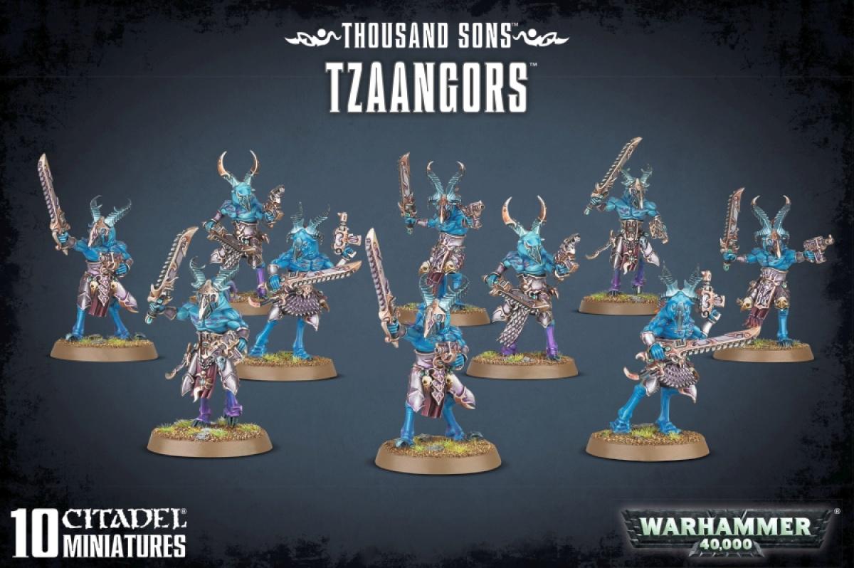 Warhammer 40,000 - Thousand Sons - Tzaangors